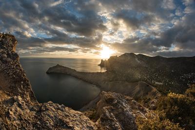 Тихий вечер Крым Новый Свет Фотопленер