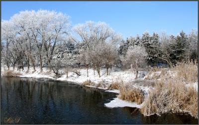 *Январь.** Зима