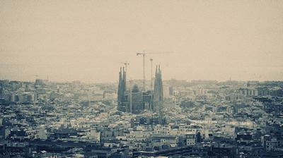 Сны Гауди Искупительный_Храм_Святого_Семейства Барселона Испания Temple_Expiatori_de_la_Sagrada_Família Barcelona spaim vakomin