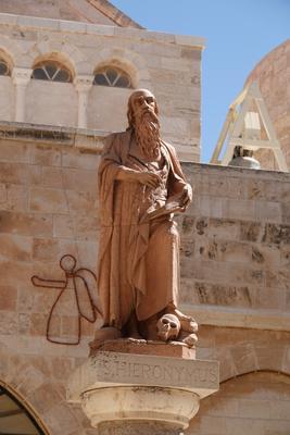 Св. Иероним, Вифлием Святой скульптура религия