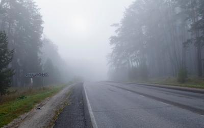 Туманное утро в Мордовии