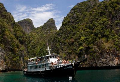 Phi-Phi. Таиланд Пи-Пи море острова красота