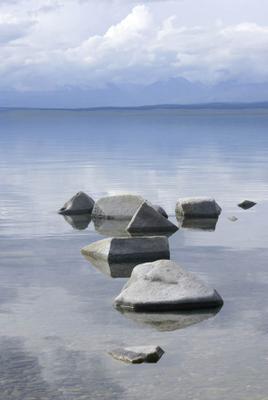 Урок геометрии Хубсугул, вода, камни