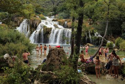 В национальном парке KRKA (Хорватия) #2