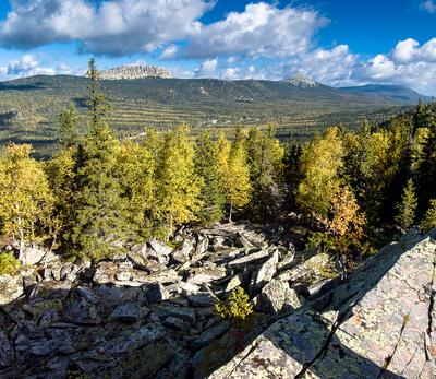 *** природный парк Таганай Каменная река Южный Урал Откликной гребень Средний Круглица