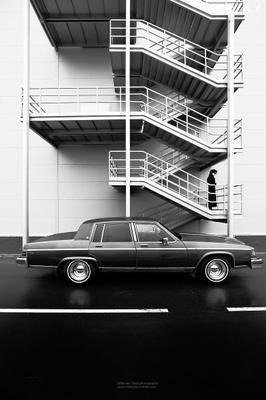 Supernova_3 Бьюик машина buick девушка автомобиль классика чб чернобелое
