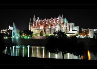 Пусть тебе приснится Пальма де Майорка... Испания Пальма де Мальорка Кафедральный собор Святой Марии Spain Catedral de Santa Maria de Palma de Mallorca