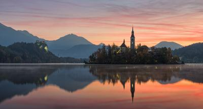 Bled Блед Словения Альпы Alps Bled Slovenia