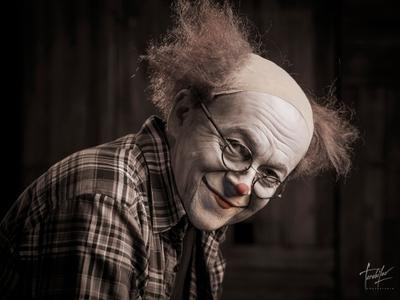 Клоун клоун clown улыбайтесь господа terebilovstudio