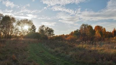 Неизвестная сказка . осень пейзаж