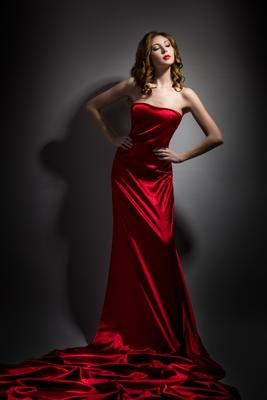 Lady in red красота девушка гламур