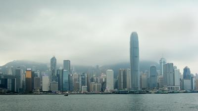 HKG Гонконг Hong Kong небоскребы мегаполис