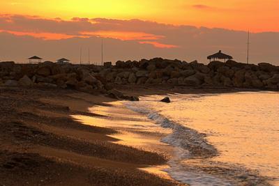 Солнце просыпается Море восход солнце