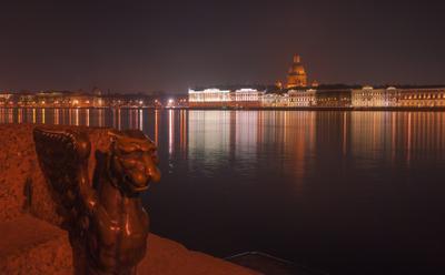На берегу Невы Санкт-Петербург