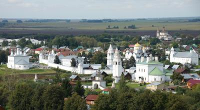 Суздаль (ЛТ-3) Суздаль монастырь Покров Покровский архитектура