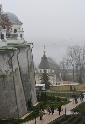Киев в тумане город киев туман собор церковь ясинский