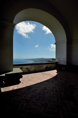 На холме. efim58 в Неаполе Италия Чертоза Сан Мартино