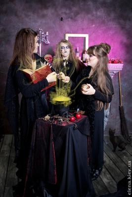 ведьмочки ведьма колдовство студия