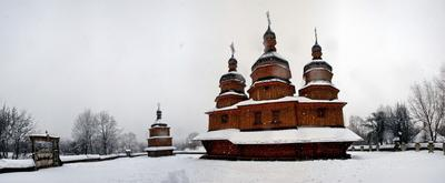 Церковь в Мамаевой слободе козацкий храм киев