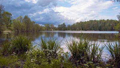 Озеро Озеро вода