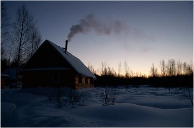 Зимнее утро зима утро печка
