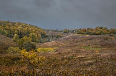 Деревенская Осень.... Осень деревня красота природа жизнь
