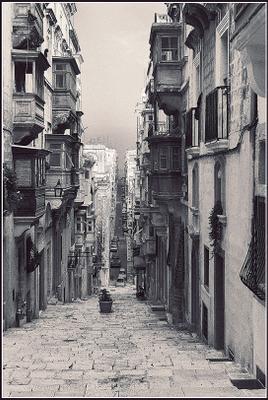 ***тихий час*** Мальта, Валлетта, город, улица