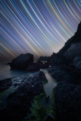 Когда Звезды расчерчивают Небо ночь звезды астро звездныетреки startrails треки крым юбк черноеморе балаклава весна