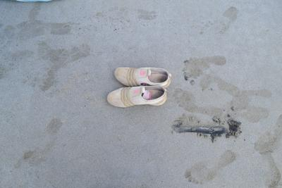 ***Обувь на песке песок лето обувь пляж