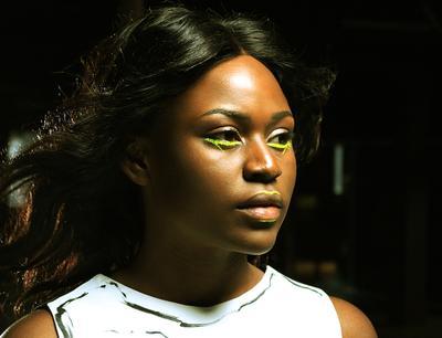 Дебора модель девушка темнокожий молодость страсть