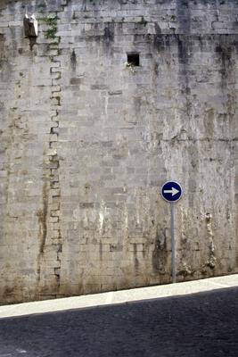 шанс город стена поворот