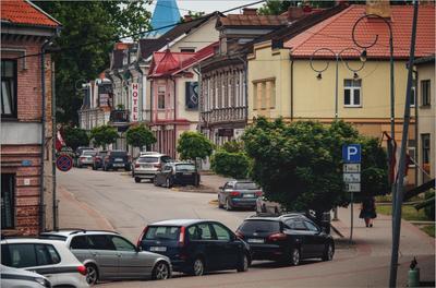 Городок город городок улица латвия