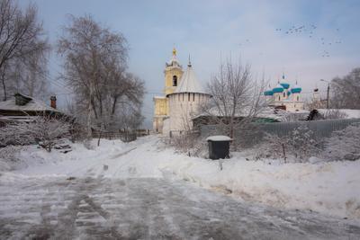 Серпуховский Высоцкий мужской монастырь.