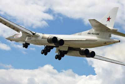 С Днём Защитника Отечества! авиация самолёт бомбардировщик ту-160 взлёт