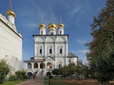 Осенью по Подмосковью. Успенский собор, Иосифо-Волоцкого монастыря
