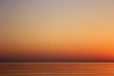 Летний закат море отдых солнце краски полотно картина