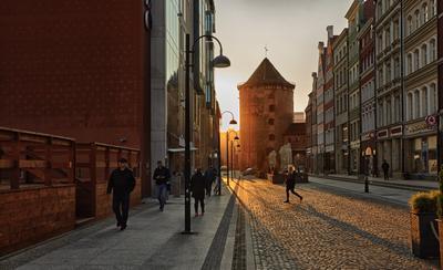 Гданьск просыпается Польша