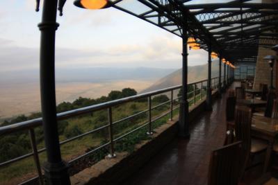 ***Вид на кратер Ногоронгоро в Танзании