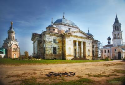 Борисоглебский монастырь Борисоглебский монастырь Торжок
