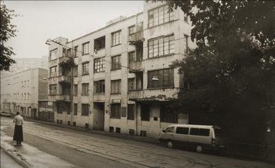 на улице Образцова