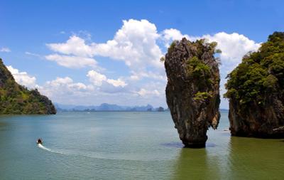 Улыбка моря. Thailand, Andaman sea, James Bond Island.