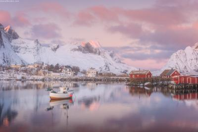 *** Тихая гавань *** Норвегия Лофотены