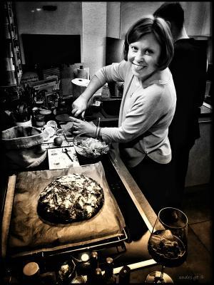 про двойной портрет на кухне кухня