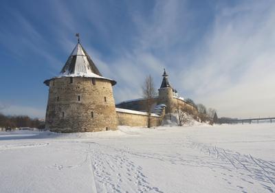 Псковский кремль зимой псков кремль зима