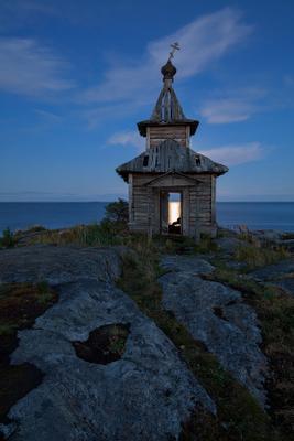Один вечер на Ладоге Карелия Ладожское озеро Есусарет полнолуние