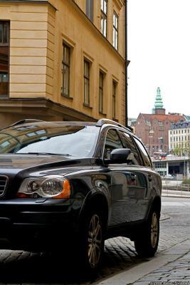 Одной крови volvo, вольво, швеция, город, стокгольм, улица, авто