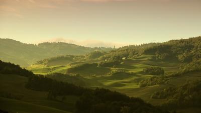 Тоскана в октябре.