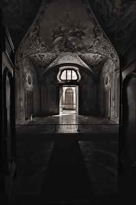 В помещении монастыря. efim58 в Неаполе Италия Чертоза Сан Мартино