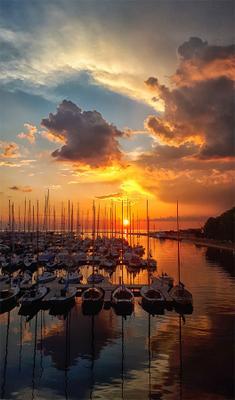 *** Море вечер закат