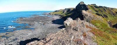 На краю земли.... Полуостров Рыбачий Баренцево море Мыс Кекурский